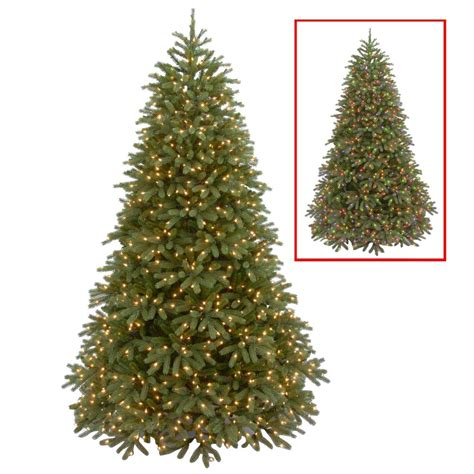 National Tree Company 7 5 Ft Jersey Fraser Fir Medium Dual Light Tree