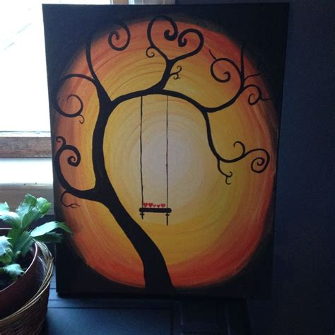 swing paint tree swing painting 4 h project ideas pinterest
