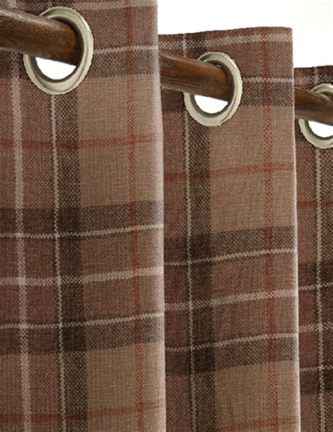 country check curtains details for country check natural next made to measure