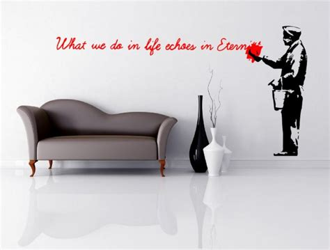 banksy wall stickers uk wall stickers store uk shop with wall stickers wall decals