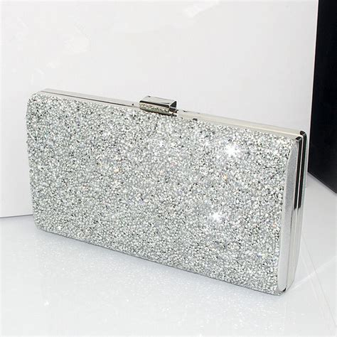 Shopping Magnes Gold Clutch by White And Silver Handbag All Discount Luggage