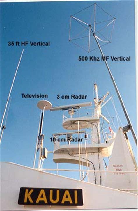 matson container ship ss kauai  radio wsrh