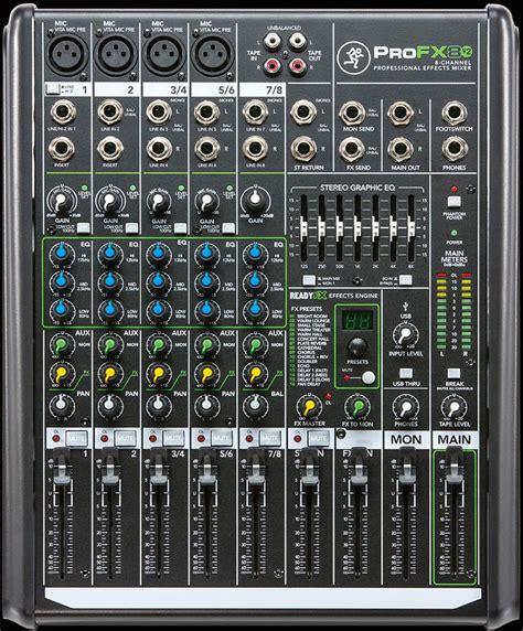 Mixer Audio Mackie mackie profx8v2 mixer pro