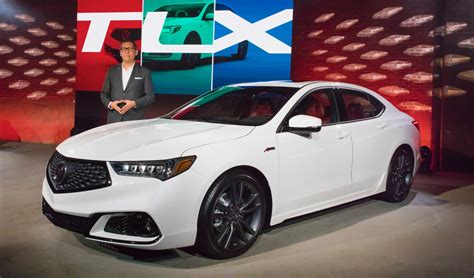 2018 acura tlx introduces new a spec model the torque report