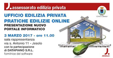 ufficio edilizia privata presentazione nuovo portale informatico ufficio edilizia