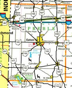 Eaton Ohio Map by 301 Moved Permanently