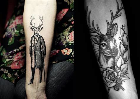 stag tattoo designs pop culture and fashion magic the deer and