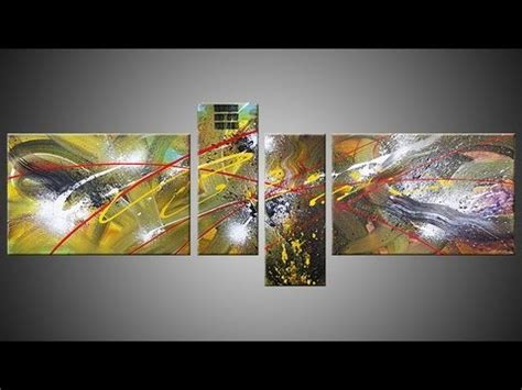 acrylic painting demonstration abstract acrylic painting demo hd with gopro