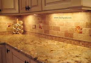 Faux Kitchen Backsplash by Subway Travertine Backsplash Tile Kitchen Backsplashes