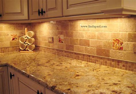 subway travertine backsplash tile kitchen backsplashes