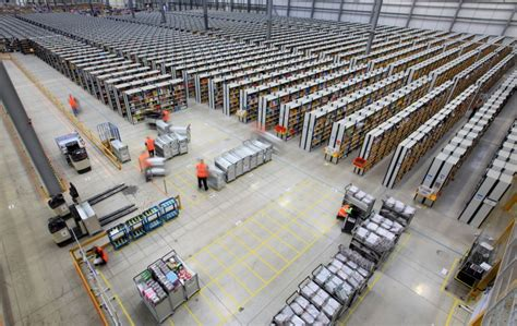 amazon warehouse robots amazon s human robots is this the future of the british