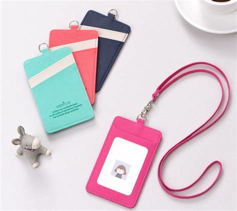 Lanyard Id Card Holder 5 details about name badge clear id card holder lanyard pass