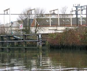 trowse swing bridge water level gauge by trowse swing bridge 169 evelyn simak cc