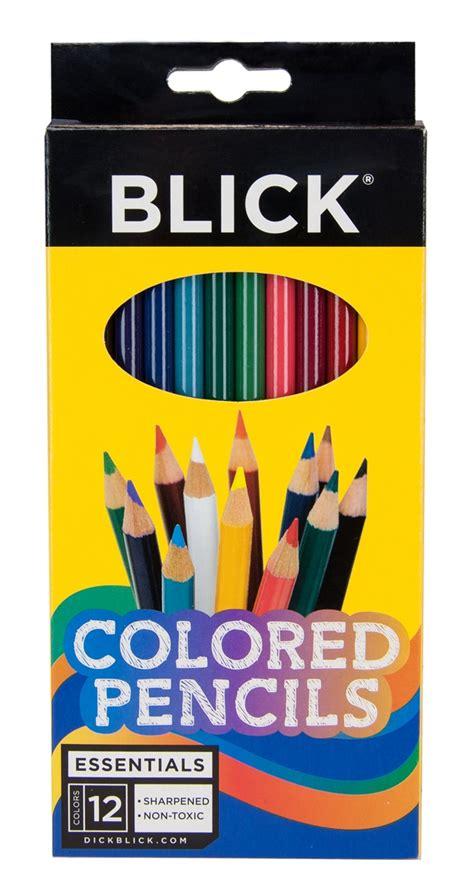 blick colored pencils blick premium colored pencils 12 pencil set