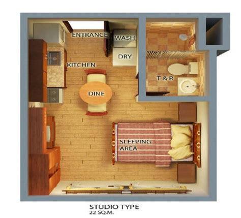 studio type bedroom spianada condo php1 7m 4 5m mango avenue cebu properties