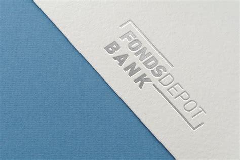fondsdepot bank corporate design keybrand