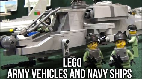 lego army boats lego army vehicles and navy ships oeiras brincka youtube