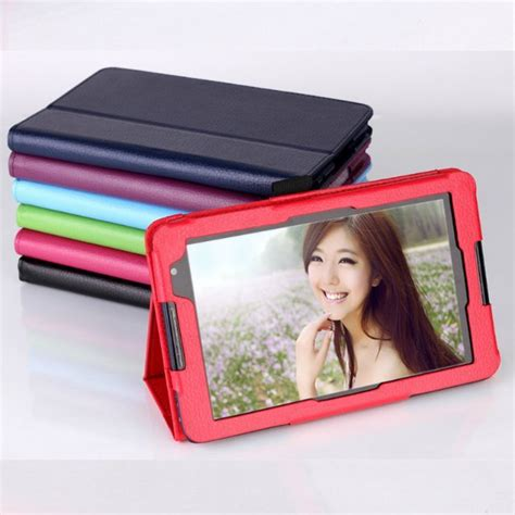 Leather Book Lenovo A5500 tablet pu leather cover for lenovo a5500 tab ideatab