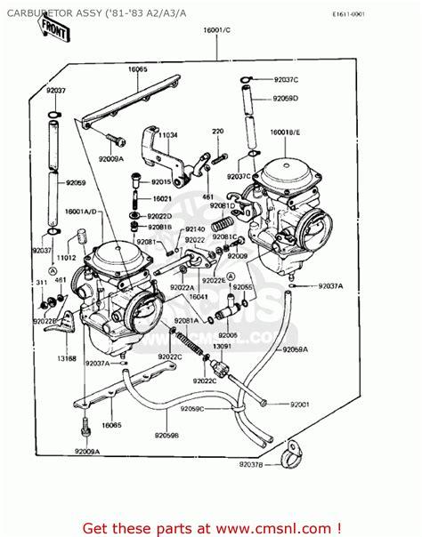 2006 Kawasaki Prairie 360 Carburetor Diagram