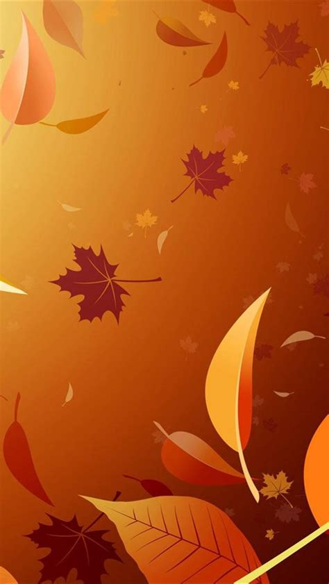 wallpaper iphone leaves vector autumn leaves backgrounds for iphone 5