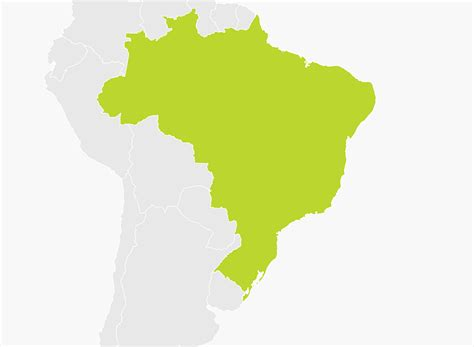 of map map of brazil tomtom