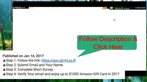 Free Amazon Gift Card Generator No Survey - amazon gift card generator no survey update offer 2017 youtube