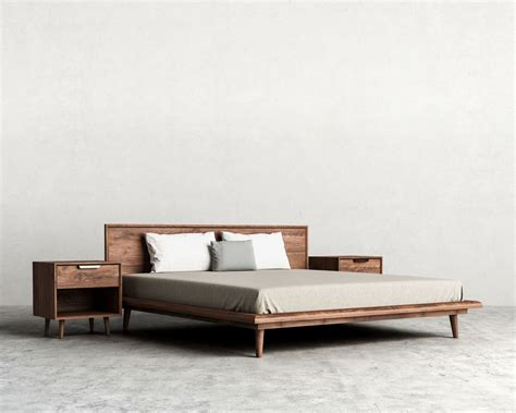 Modern Bed Frames Canada Home Decor Tempting Modern Bed Frames Plus Asher Mid Century And Frames Canada To Inspire Your