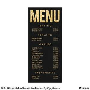 menu price list template price list paper and glitter on