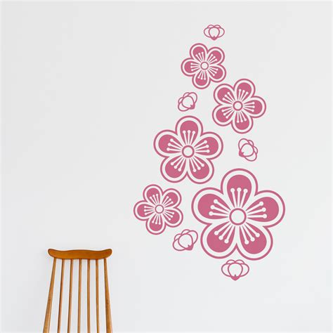Wall Sticker Cherry Blossom Flower cherry blossom wall stickers peenmedia