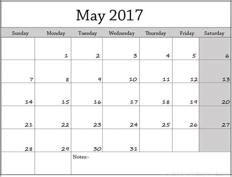 Calendar Of May May 2017 Calendar Archives Calendar Printable With
