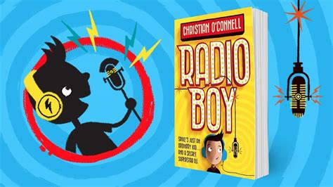 radio boy radio boy 0008183325 check out radio boy the debut book from presenter christian o connell fun kids the uk s