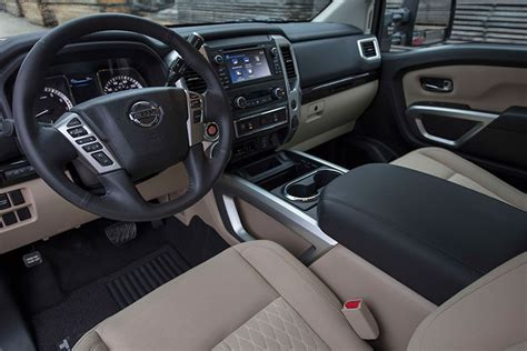 nissan trucks interior review 2017 nissan titan truck still lags