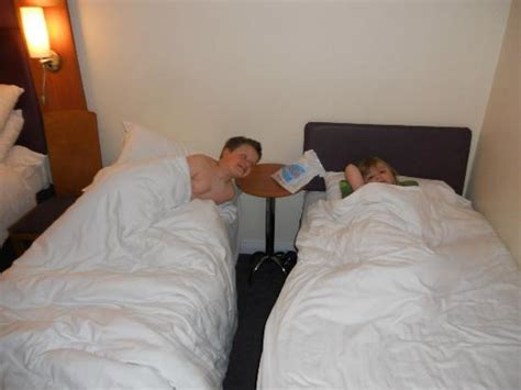 Premier Inn Family Room Beds by Family Room 2 Normal Single Beds For Children Picture Of
