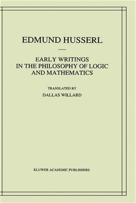 the philosophy of logical atomism books early writings in the philosophy of logic and mathematics
