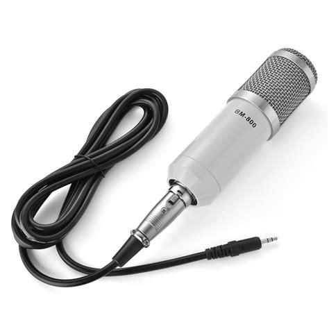 Audio Condenser Microphone Studio Sound Shock Mount Bm 800 bm 800 condenser microphone shock mount home studio audio record mic pink white