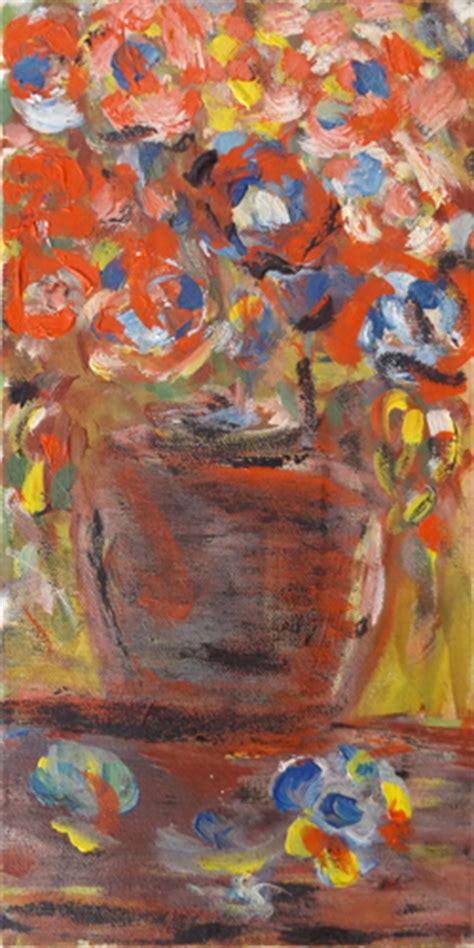 pittori di fiori quadro di pittori anonimi vaso di fiori