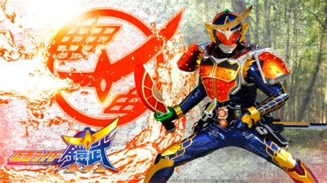 Baju Anime Gundam 06 kamen rider gaim kachidoki arms versi gundam antokuhero