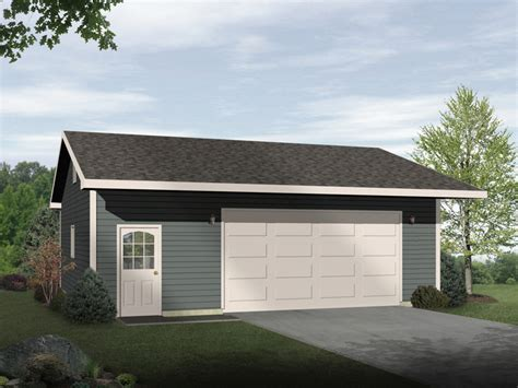 2 Car Garage Designs by Damani Modern Drive Thru Garage Plan 059d 6044 House