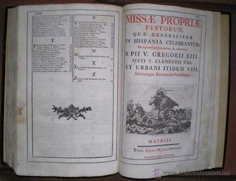 libro latin america since 1780 missale romanum misal romano en lat 237 n 1780 comprar libros antiguos de religi 243 n en
