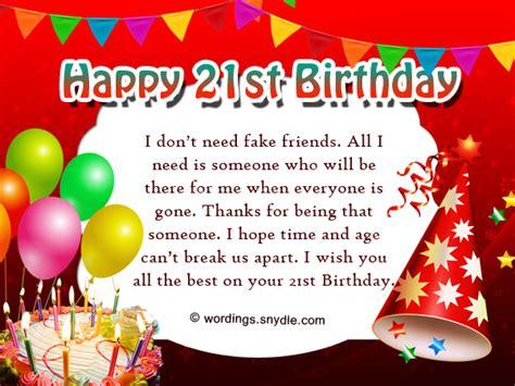 st birthday 21st birthday sayings for best friend best friend
