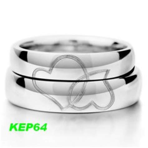 Ring Silver Emas Putih Asli Made In Korea Rl 024 Garansi 6 Bulan B Cincin Kawin Muslim Palladium Dan Emas Putih Kep64