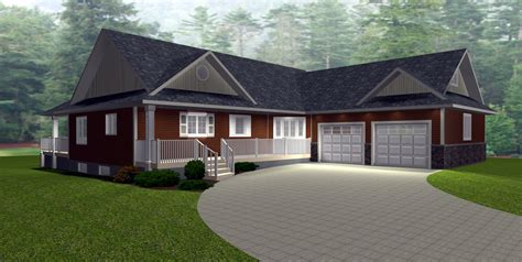 rancher homes free ranch house plans with walkout basement new house