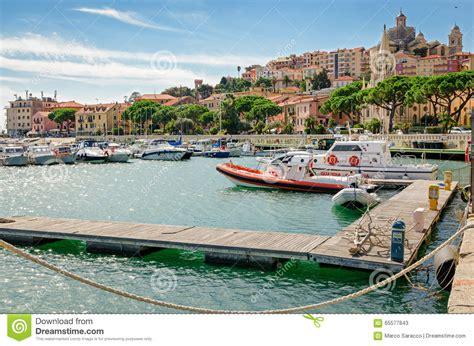porto san maurizio imperia imperia porto maurizio liguria italy stock image image