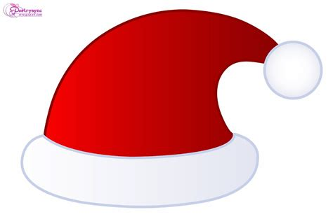 cartoon with santa hat no clipart