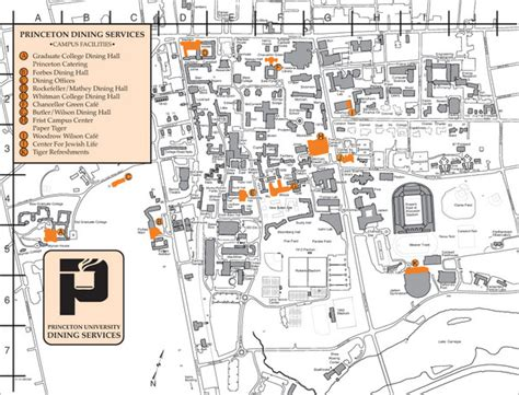 princeton map dining services at princeton map princeton mappery