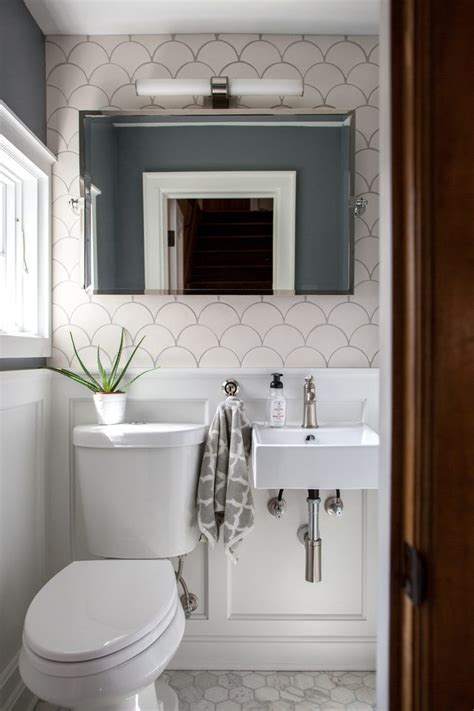 bath designs powder room transitional  square mirrored contemporary waterfall faucets