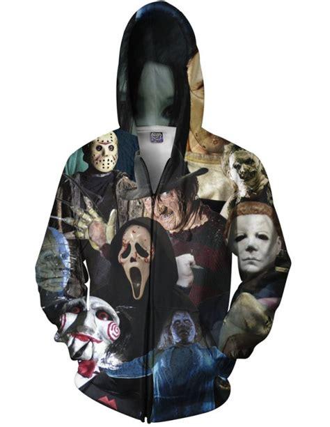 Hoodie Killers cinema killers zip up hoodie creepbay