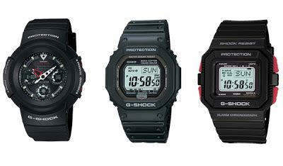 g shock figures g shock figures from casio for the 25th anniversary tech