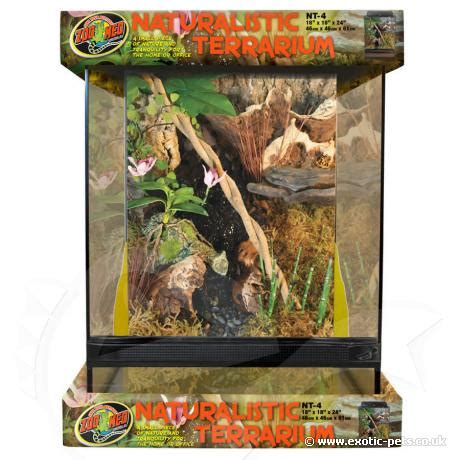 Zoo Med L by Zoo Med Naturalistic Terrarium Glass Housing