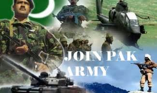 Join pak army as regular commission through technical cadet